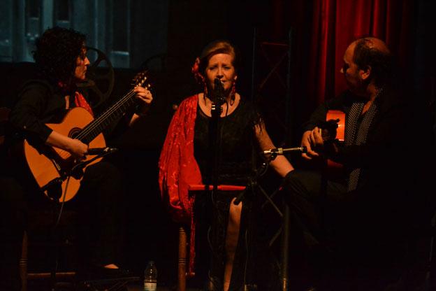 El espectáculo cuenta con 5 actuaciones de artistas aragoneses en diferentesdisciplinas: dramatización, danza, música y canto.